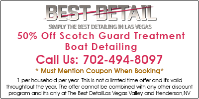 50% Off Scotch Guard Boat